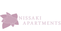 nissaki  apartments footer logo